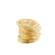 Patatine soffiate al sapore formaggio e cipolle